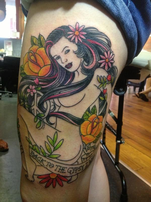 Gypsy Tattoos 17