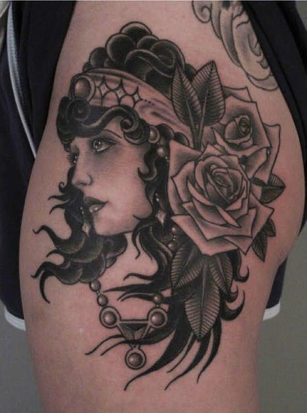 Gypsy Tattoos 40