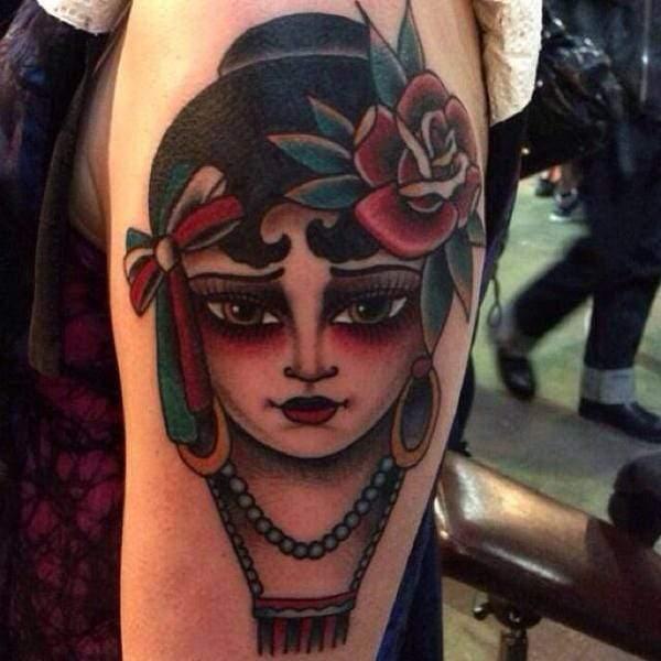 Gypsy Tattoos 55