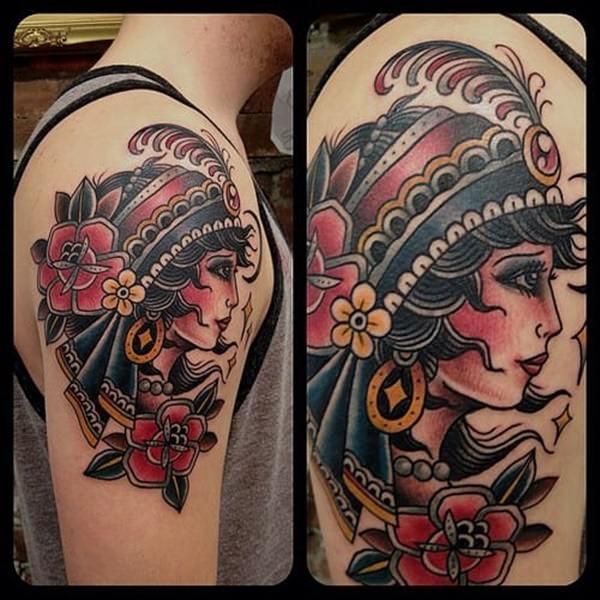 Gypsy Tattoos 56