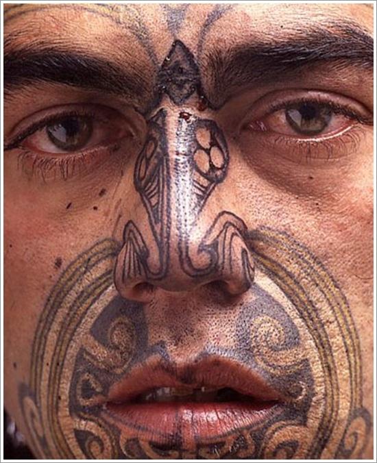 Maori Tribal Tattoo Designs 11