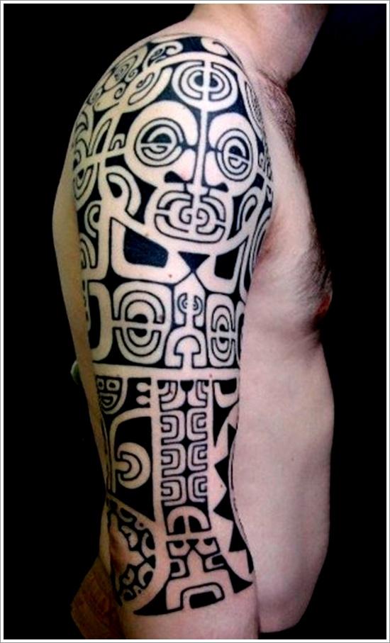 Maori Tribal Tattoo Designs 14