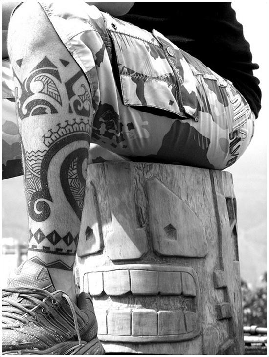 Maori Tribal Tattoo Designs 15