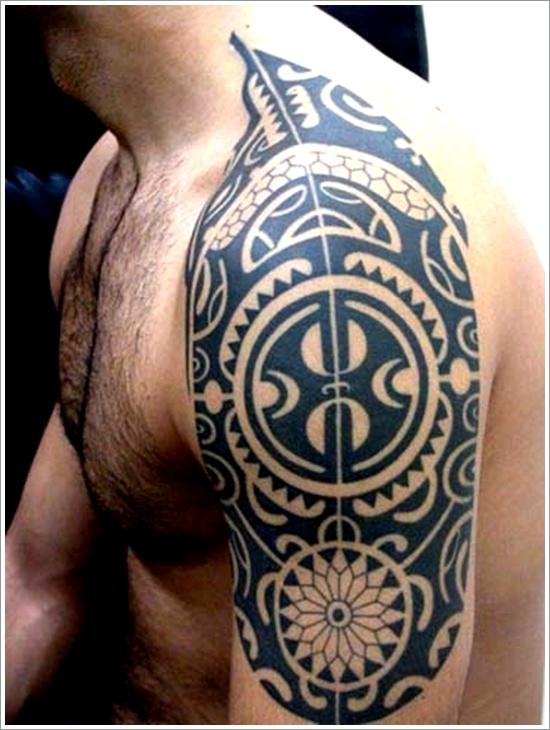 Maori Tribal Tattoo Designs 6