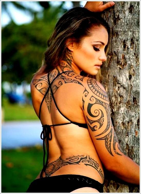 Maori Tribal Tattoo Designs 7