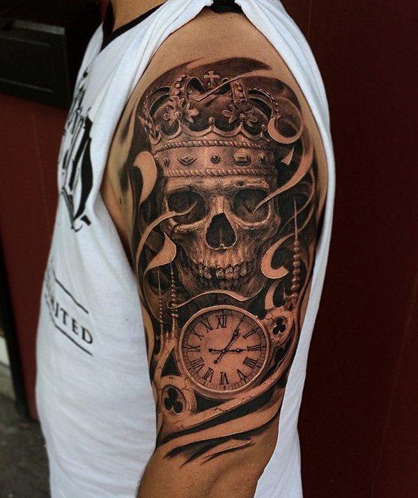 Skull Tattoos for Men and Women 17