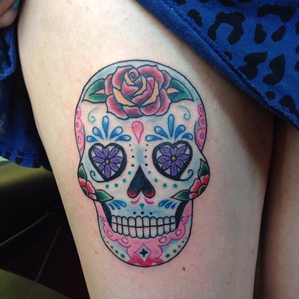 Skull Tattoos for Men and Women 19