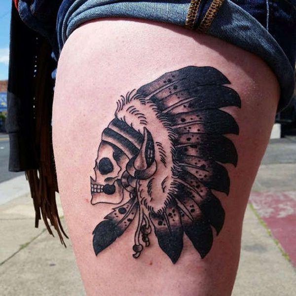 Skull Tattoos for Men and Women 2