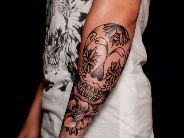 Skull Tattoos for Men and Women 21