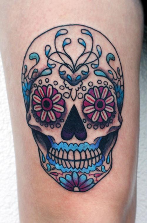 Skull Tattoos for Men and Women 33