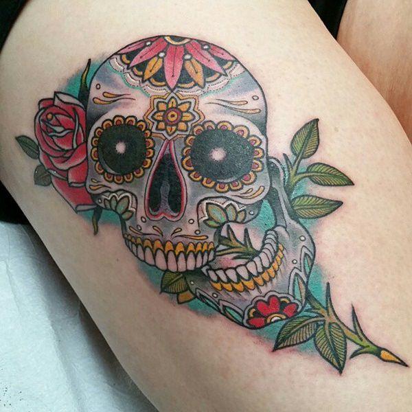 Skull Tattoos for Men and Women 45