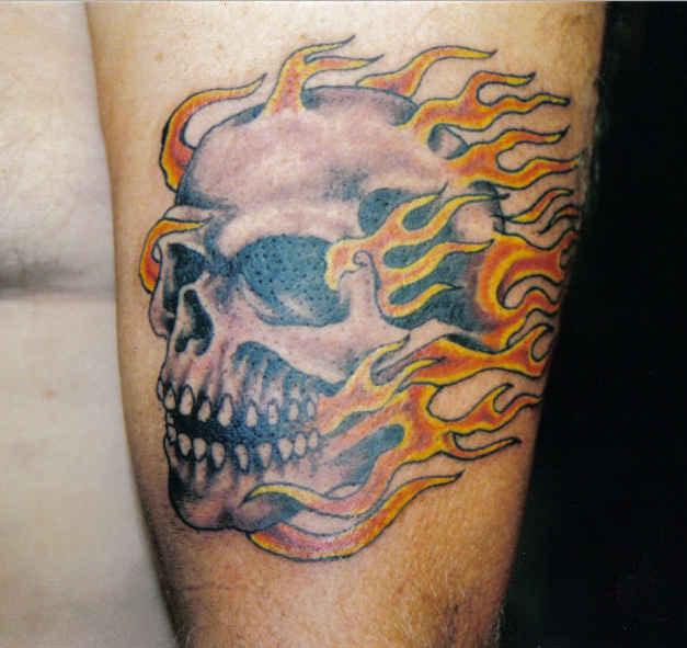 Skull Tattoos for Men and Women 49