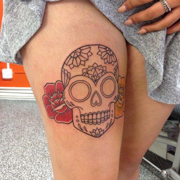 Skull Tattoos for Men and Women 5