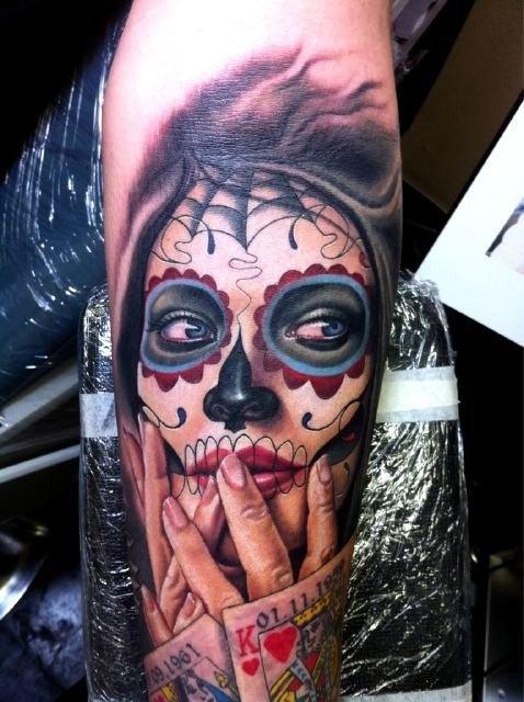 Skull Tattoos for Men and Women 6