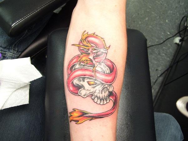 Skull Tattoos for Men and Women 65
