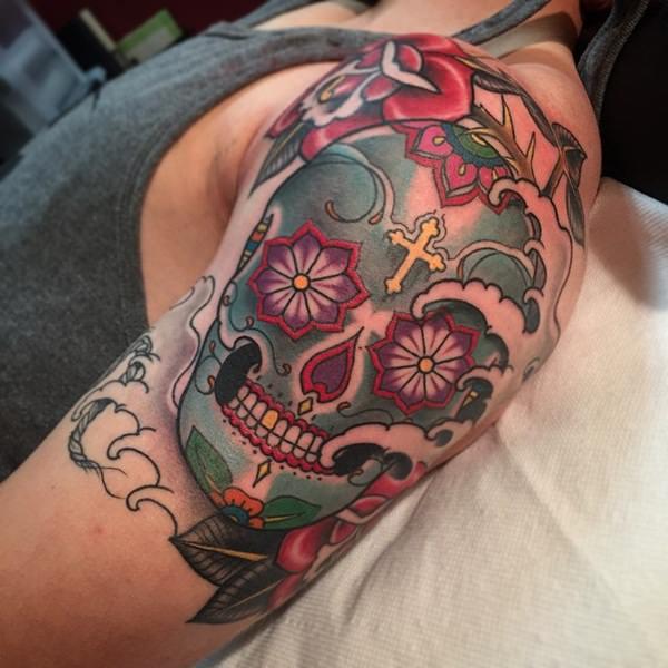 Skull Tattoos for Men and Women 71