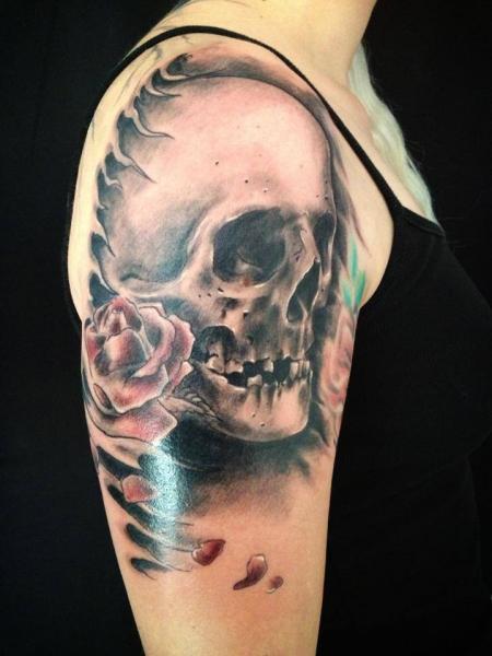 Skull Tattoos for Men and Women 82
