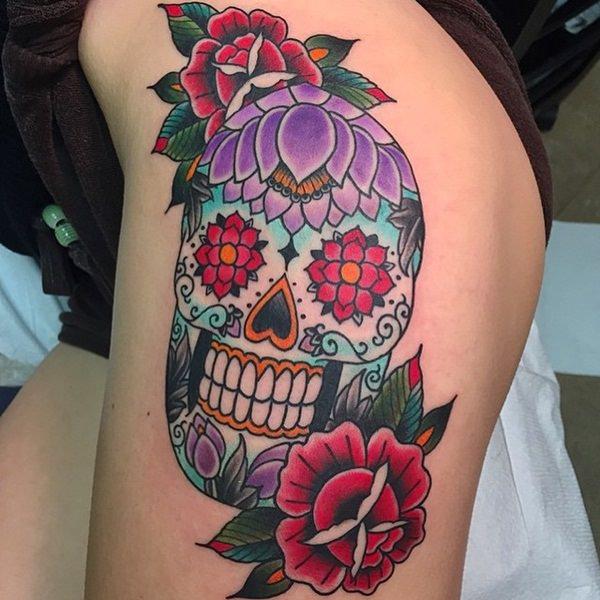 Skull Tattoos for Men and Women 87