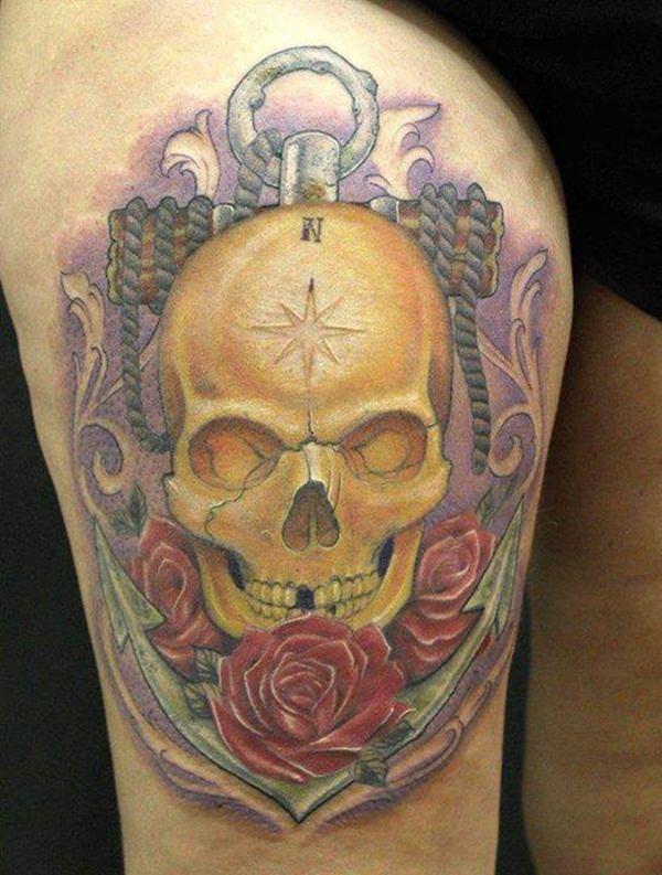 Skull Tattoos for Men and Women 92
