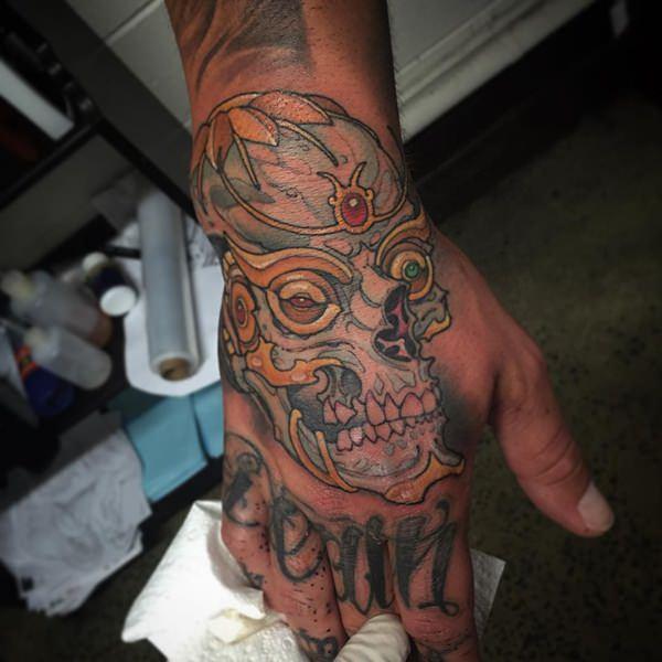 Skull Tattoos for Men and Women 94