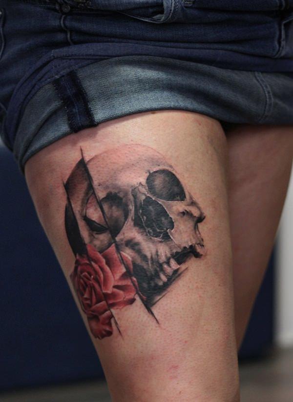 Skull Tattoos for Men and Women 95