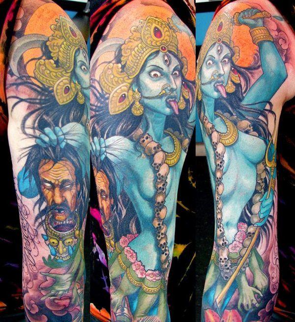 The Fiery Kali Tattoo