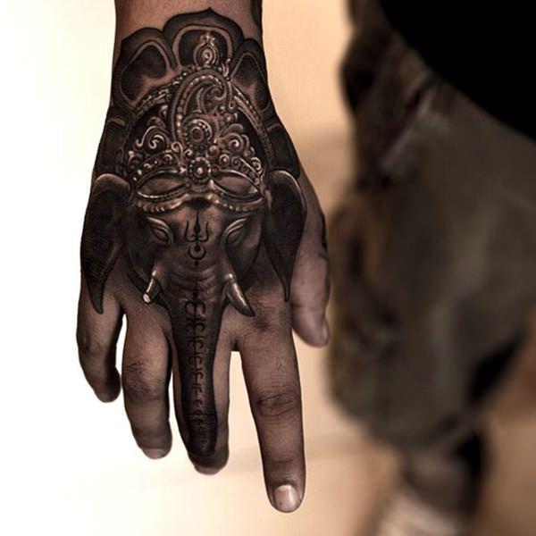 The Ganesh Down The Finger
