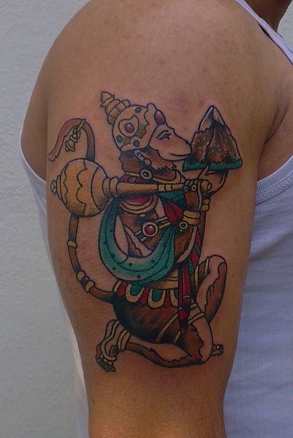 The Hanuman Tattoo