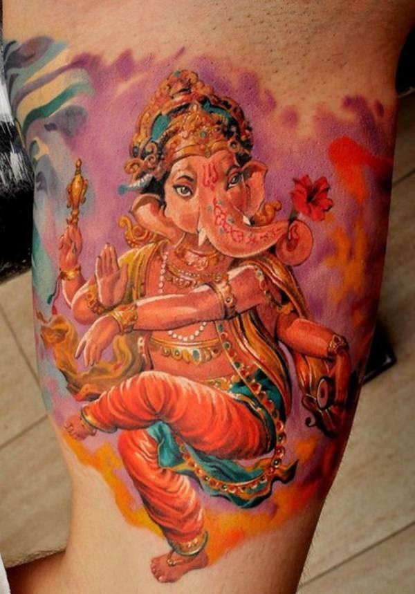 The Watercolor Ganesh