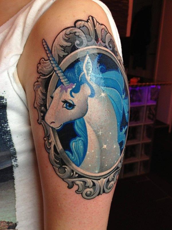 Unicorn Tattoo Designs 14