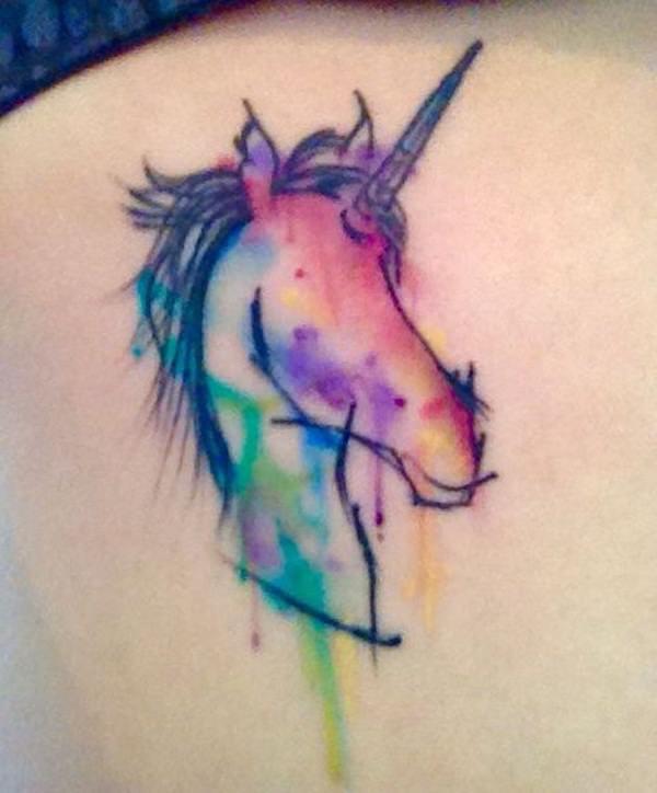 Unicorn Tattoo Designs 22