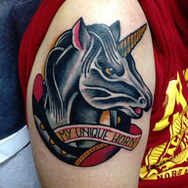 Unicorn Tattoo Designs 59