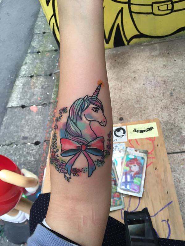 Unicorn Tattoo Designs 63