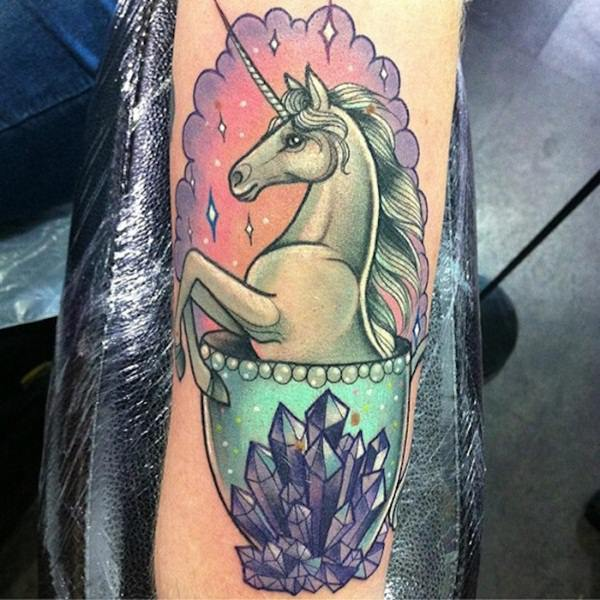 Unicorn Tattoo Designs 66