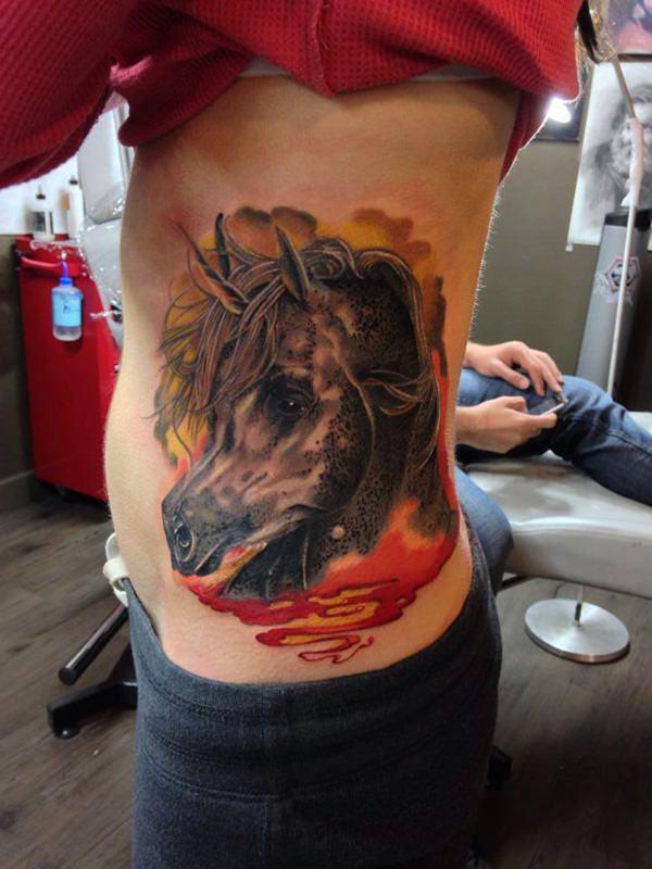 Unicorn Tattoo Designs 84