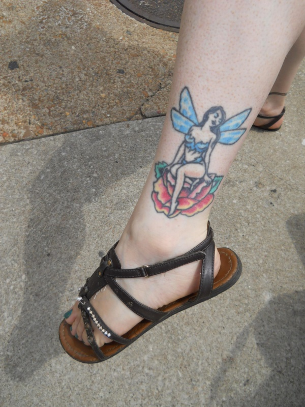 foot tattoo designs for girls 19