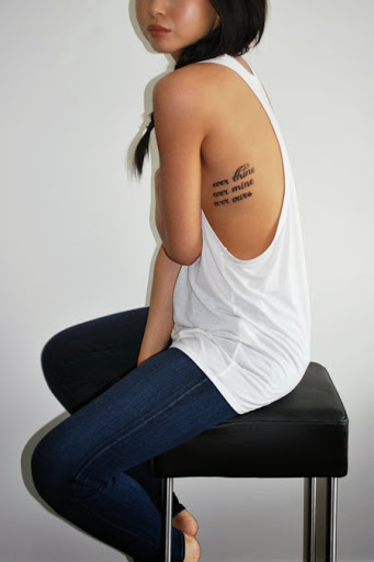 Mind Blowing Girl Tattoo Quotes 11