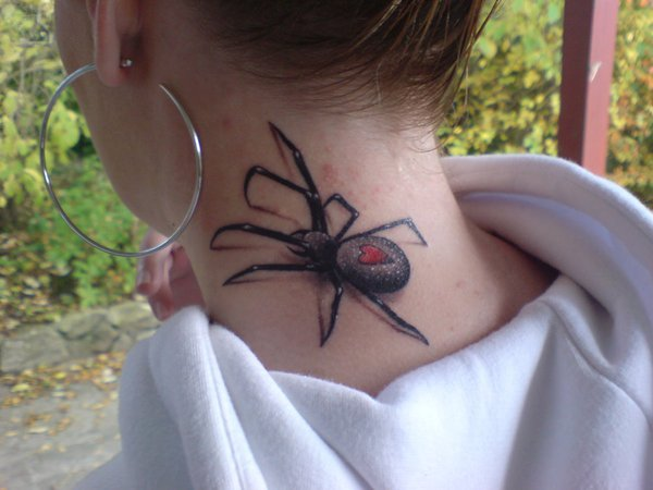 Awesome Spider Tattoo Designs 1