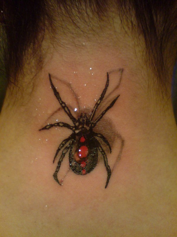 Awesome Spider Tattoo Designs 13
