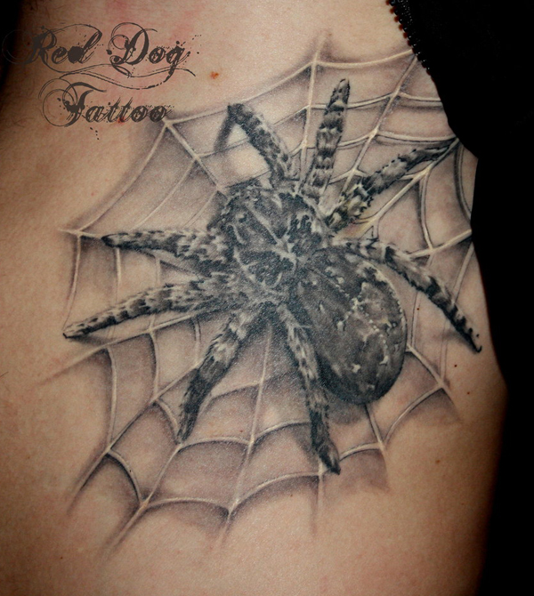 Awesome Spider Tattoo Designs 15