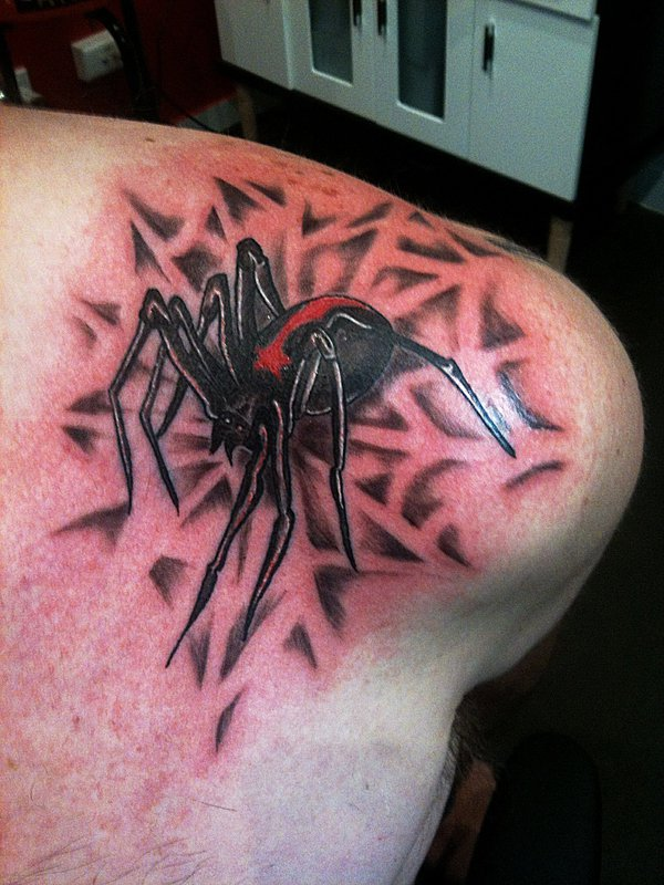 Awesome Spider Tattoo Designs 20