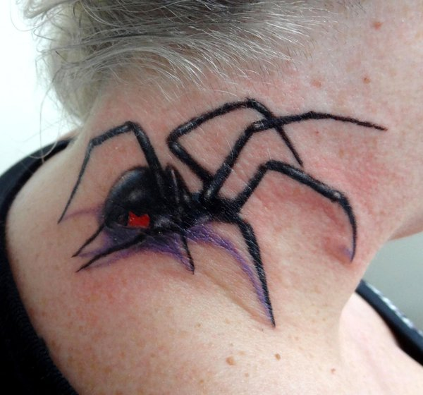 Awesome Spider Tattoo Designs 22