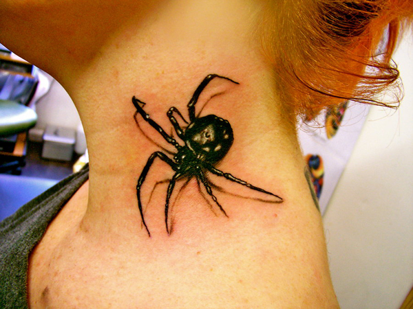 Awesome Spider Tattoo Designs