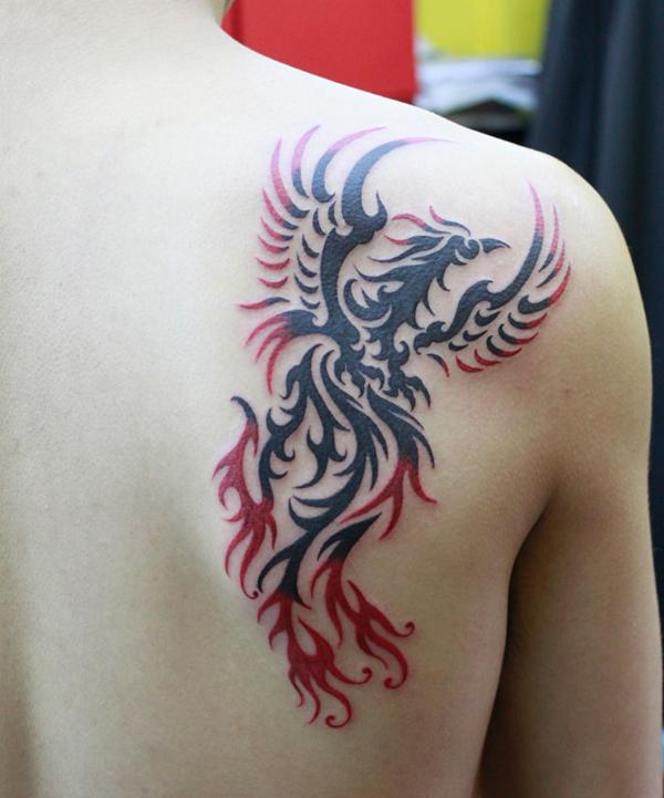Beautiful Phoenix Tattoo Designs 10