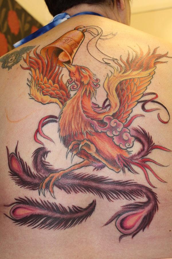 Beautiful Phoenix Tattoo Designs 13