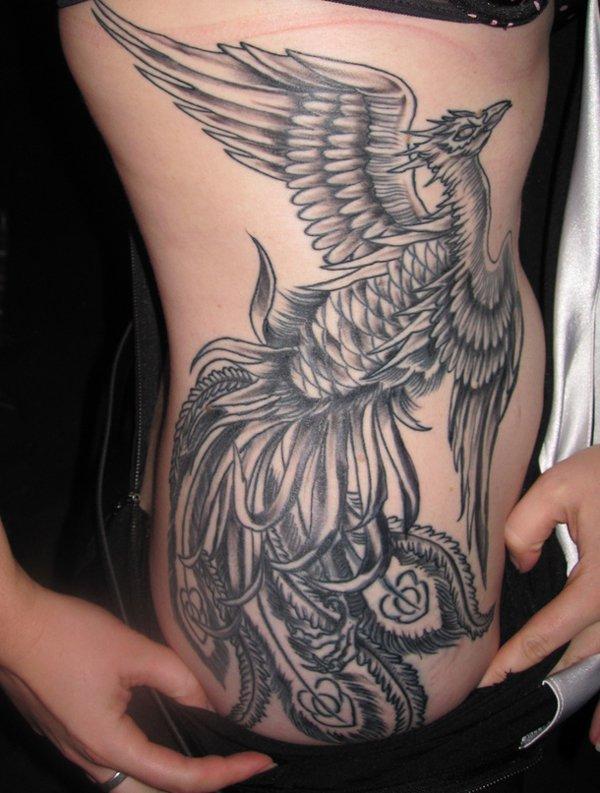 Beautiful Phoenix Tattoo Designs 16