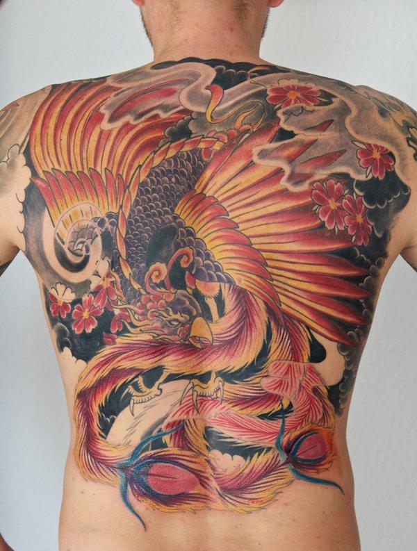 Beautiful Phoenix Tattoo Designs 18