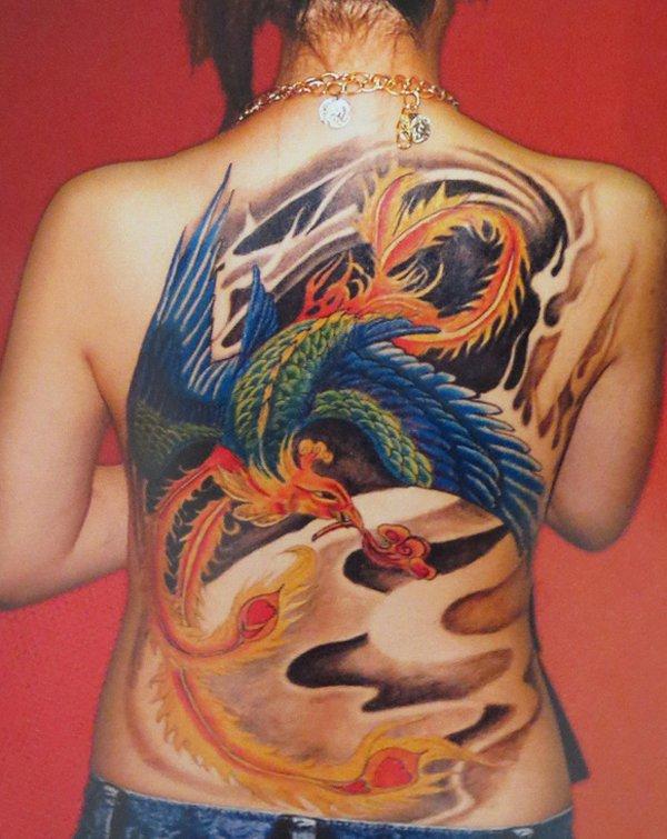 Beautiful Phoenix Tattoo Designs 20