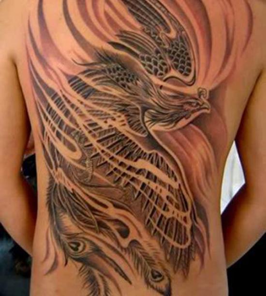 Beautiful Phoenix Tattoo Designs 42