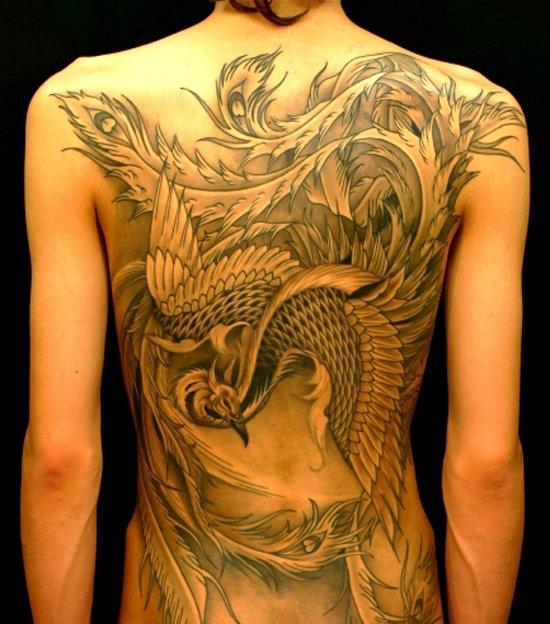 Beautiful Phoenix Tattoo Designs 43